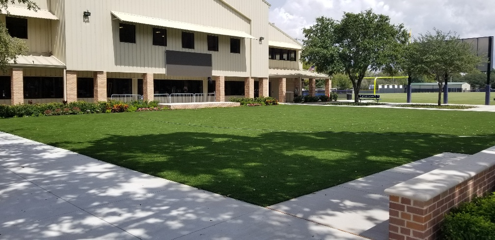 commercial installation of artificial grass